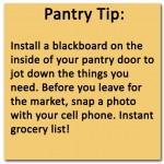 Pantry Tip